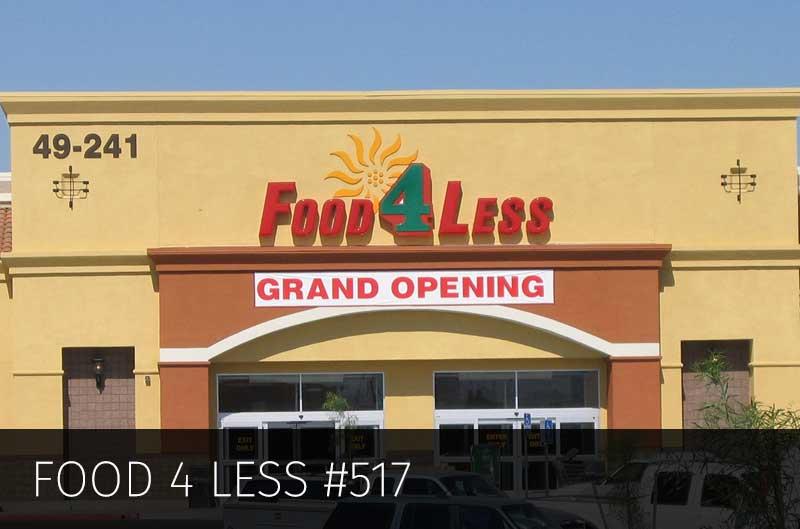 Food 4 Less – 2.5 Million