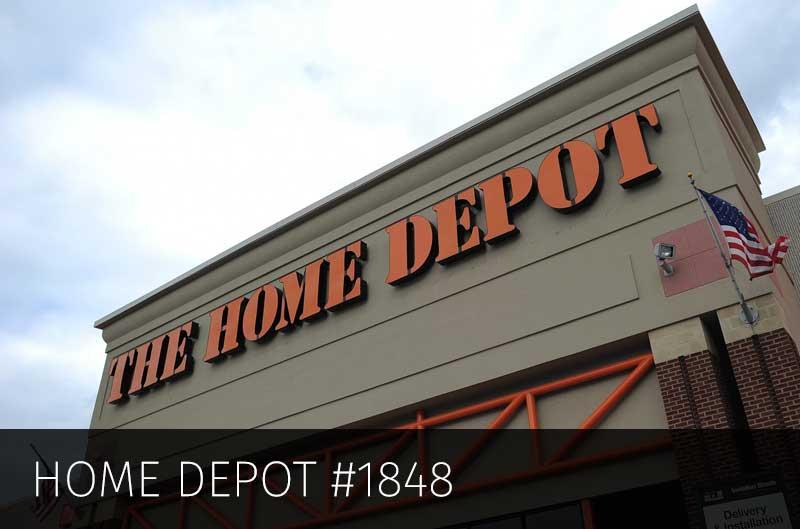 Home Depot #1848 – 5.6 Million