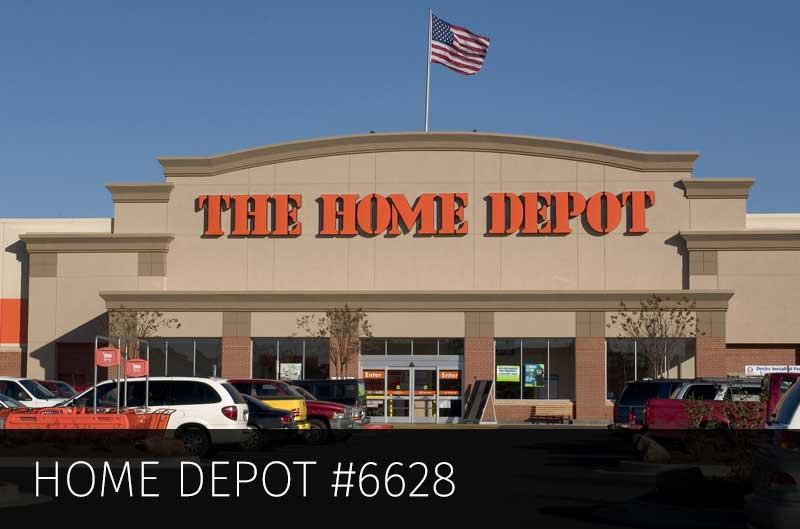 Home Depot #6628 – 6.2 Million